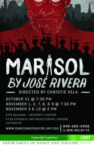 a review of the production of jose riveras play marisol Actors theatre of louisville submit search the site by josé rivera directed by marcus stern cast of characters marisol.
